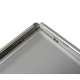 Cadre aluminium mural B2 50x70cm - Porte affiche pas cher