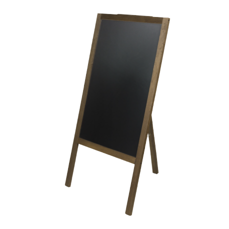 chevalet ardoise noire tableau noir pour restaurant. Black Bedroom Furniture Sets. Home Design Ideas