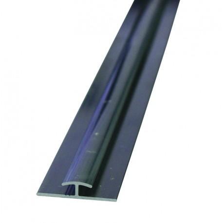 Profilé de jonction aluminium pour assembler des panneaux composite type Dibond