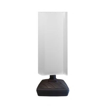 Moulin rotatif nu double face blanches 152x60cm