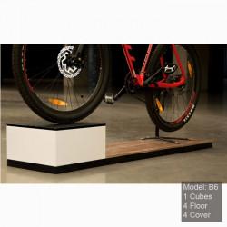 mobilier pour magasin de vélo