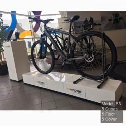 Corner pour vélo - podium pour cycle