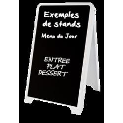 Chevalet stop trottoir pour restaurant