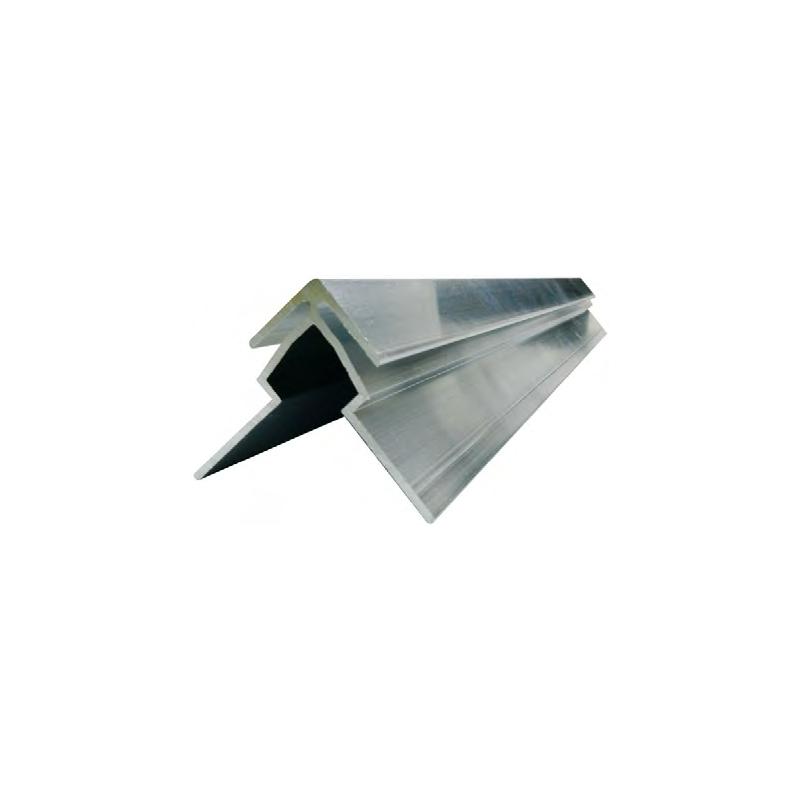 jonction de plaques en angle droit de type dibond aluminium composite. Black Bedroom Furniture Sets. Home Design Ideas