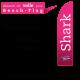 Voile de remplacement pour beach flag Shark