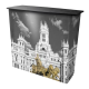 Comptoir de stand amovible tissu portable transportable