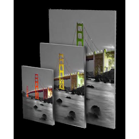 Kit encadrement aluminim avec visuel en tissu imprim - Cadre format a3 ...