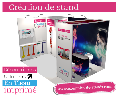 Revendeur et fabricant de stands sur mesure for Exemple de stand